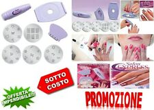 KIT STAMPINO PER DECORAZIONE UNGHIE - NAIL ART STAMPING SALON EXSPRESS