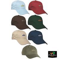 DRAKE WATERFOWL DUCK HEAD DH LOGO COTTON TWILL BALL CAP HAT ADJUSTABLE OSFM
