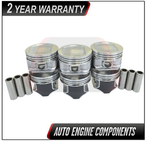 Piston Set Fits Jeep Grand Cherokee Wrangler 4.0L - SIZE 030