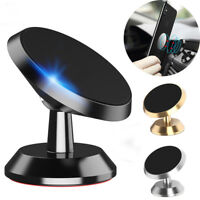 UK Auto Phone Holder Dashboard GPS Mount Adjustable 360 Car Dash Magnetic Mobile