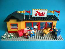 Lego 6373 Motorradladen Motorcycle Shop Motorräder mit Windschutz von 1984 OBA