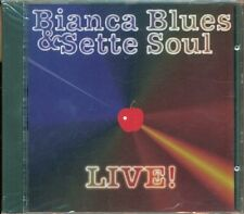 Bianca Blues & I Sette Soul - Live! (Otis Redding/Winwood/James Brown) Cd Nuovo