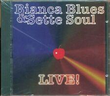 Bianca Blues & I Sette Soul - Live! (Otis Redding/Winwood/James Brown) Cd Nuovo