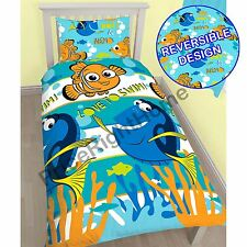 FINDING NEMO DORY SINGLE DUVET COVER SET NEW 2 in 1 BEDDING