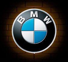BMW BADGE SIGN LED LIGHT BOX MAN CAVE GARAGE WORKSHOP GAMES ROOM BOYS GIFT M3 M5