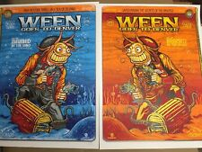 Ween Ogden Theater Denver Colorado 2017 2 Night Set Zoltron Art Poster Print