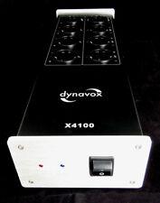 Dynavox X4100S Hifi-Steckdosenleiste silber 10 Ampere