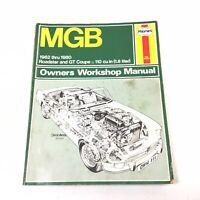 HAYNES MGB 1962-1980 ROADSTER & GT COUPE (1.8 LITER) OWNERS WORKSHOP MANUAL 111