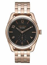 Nixon A950 1932 C39 SS Rose Gold Black Watch