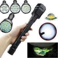 Tactical 90000LM T6 LED 5-Mode Super Bright Light Flashlight Torch Lamp Hunting^