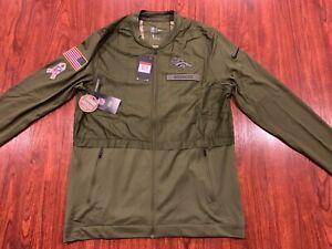 Nike Men's Denver Broncos Salute To Service Hybrid Jacket Large L NFL Football