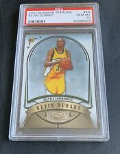 2007-08 Bowman Sterling Kevin Durant Seattle Supersonics RC Rookie PSA 10