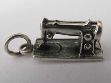 SEWING MACHINE  STERLING SILVER CHARM - NEW (#B)