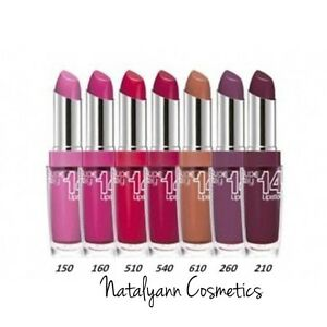 Maybelline Super Stay 14 Hour Lipstick NEW & SEALED NEW SHADE +  FREE POST