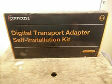 NEW OPEN BOX COMCAST  DIGITAL TRANSPORT ADAPTER DTA SELF INSTALLATION KIT