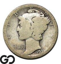 1921 Mercury Dime, Key Date