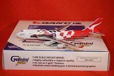 GEMINI JETS 083 QANTAS FORMULA ONE  BOEING 747-400 reg VH-OJC 1-400 SCALE