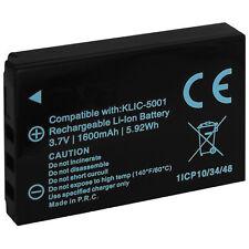 Batería Klic-5001 para Kodak Easyshare DX6490, DX7440,DX7590, DX7630, P712, P850