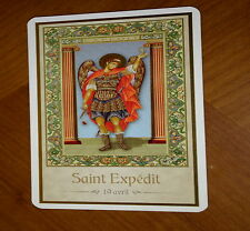 SAINT EXPEDIT 19 AVRIL_ IMAGE PIEUSE avec prière (card 7x12 cm)