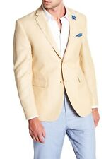 Men's Original Penguin Two Button Notch Collar Sport Coat Sunshine Size 38R