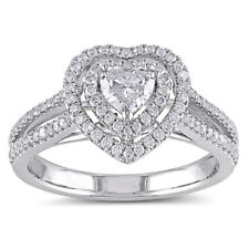 GIA Certified Heart Shape 2.25 Carat Diamond Engagement Ring 18k Gold