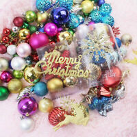 Christmas Tree Toys Decorations Ball Bauble Xmas Party Hanging Ball Ornaments