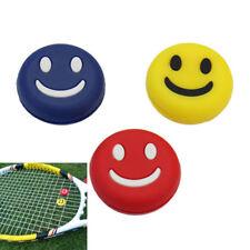 3 Antivibrazione Assorbisci Urto Silicone Racchetta Tennis Viso Sorridente ex1l