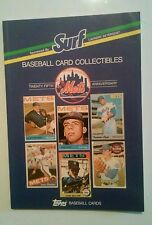 Surf Topps book. Every NY Mets baseball card from 1962 - 1987 Shea Stadium days