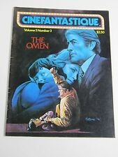 "Cinefantastique Magazine-Vol 5 # 3- The Omen-Polanski ""Tenant"" Tytla Disney 1976"