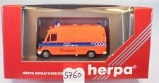 Herpa 1/87 043700 Mercedes Benz 310D RTW Flughafenklinik Frankfurt OVP #5760