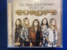 EUROPE.    2 CDs.   Final Countdown.  Best of.