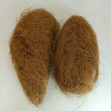 2 oz Coconut Fiber for Bird Nesting Material and Foraging for Canaries Finches