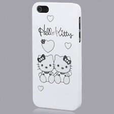 Hello Kitty - CUSTODIA PROTEZIONE Vintage COVER BACK CASE RIGIDA per iPhone 5
