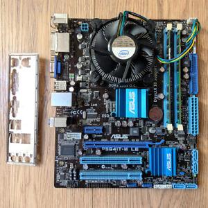 Asus P5G41T-M LE (Socket 775 / Micro-ATX) + Intel Core 2 Duo E7200 + 4GB DDR3