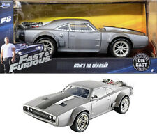Dodge Ice Charger R/T Fast & Furious Dom F8 and Grau Grey 1:24 Jada Toys 98291