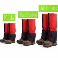 Ski Boots Gaiters Shoe Cover Hiking Trekking Climbing Snow Leg Warmer Waterproof
