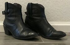 "Lucky Brand ""Jordan"" Ankle Boot Womens Size 8.5 Leather Shoes"