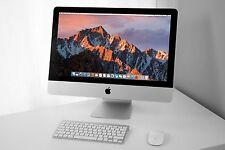 "SUPERB 21.5"" RAZOR Apple iMac desktop 2.7 - 3.2 GHz i5 1TB HDD 8GB RAM+AppleCare"