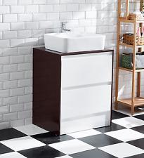 Bathroom Ceramic Cabinet single basin two drawer board painting gloss AR1003