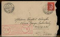 Germany 1944 Gemeinschaftslager Stuebemuehle Labor Camp Belgium Cover 89470