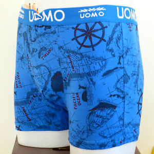 Funny Sailor Pirate Sea Ocean Ship Sexy Men Cotton Boxer Shorts Birthday Gift