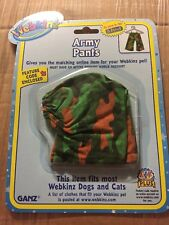 Webkinz Clothing Army Pants With Online Code From Ganz Plush