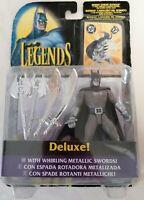 BATMAN - *Unopened* Legends Of Batman Figure W/ Metallic Swords 1995 Kenner DC