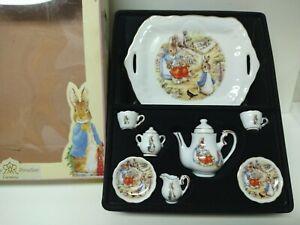 NEW World Beatrix Potter Mini Tea Set Reutter Porzellan Germany Peter Rabbit