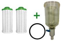 Filterglocke + Filterelemente für Grünbeck GBS GBS-D GENO KOMBI Ersatzfilter