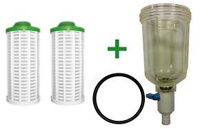 Filterglocke + Filterelemente für Grünbeck GB GBS GBS-D GENO KOMBI Ersatzfilter