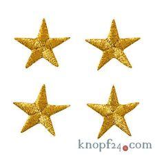 Applikation zum Aufbügeln 4 Sterne gold (#76328)