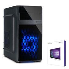 QUAD CORE PC GAMER INTEL i5 7400 4x 3,5GHz Turbo 8GB 1TB GTX1050 TI Windows 10