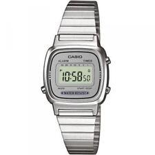 orologio CASIO VINTAGE lady  acciaio quarzo allarme timer  LA670WEA-7EF