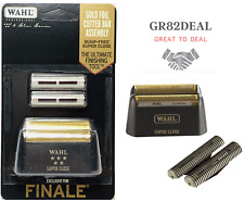 Wahl 7043 5 Star Series Finale Replacement Gold Foil & Cutter Bar Assembly NEW